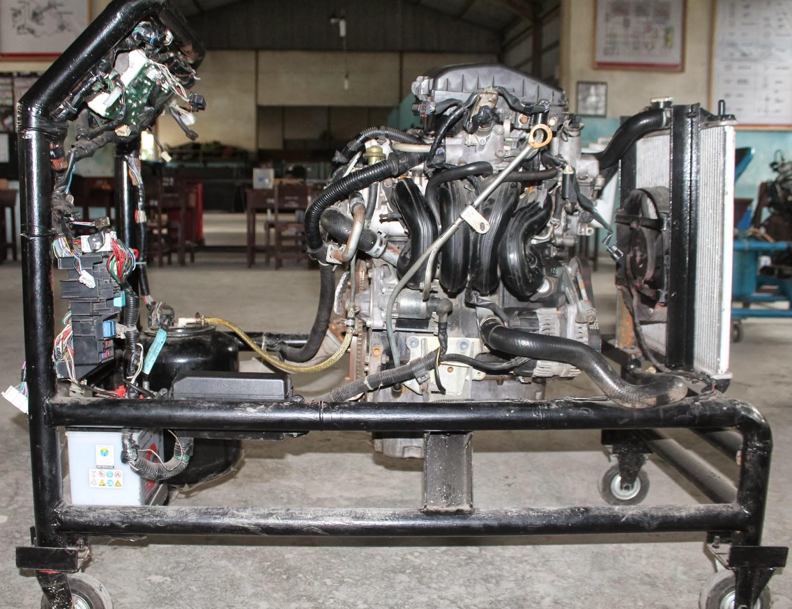 Indoauto Bandung  Engine Trainer Mesin Toyota