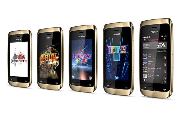 Nokia Asha 308 and 309 mobile phones