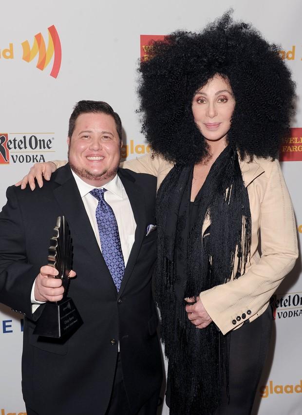 Cher e Chaz Bono (Foto: Getty Images)