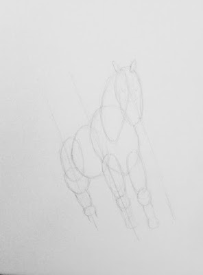 Step 1 How To Draw a Horse
