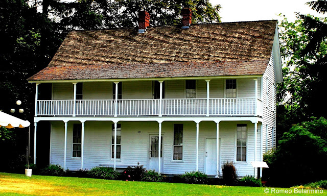 Early Settlement Homes, Willamette Heritage Center at the Mill, Salem, Oregon