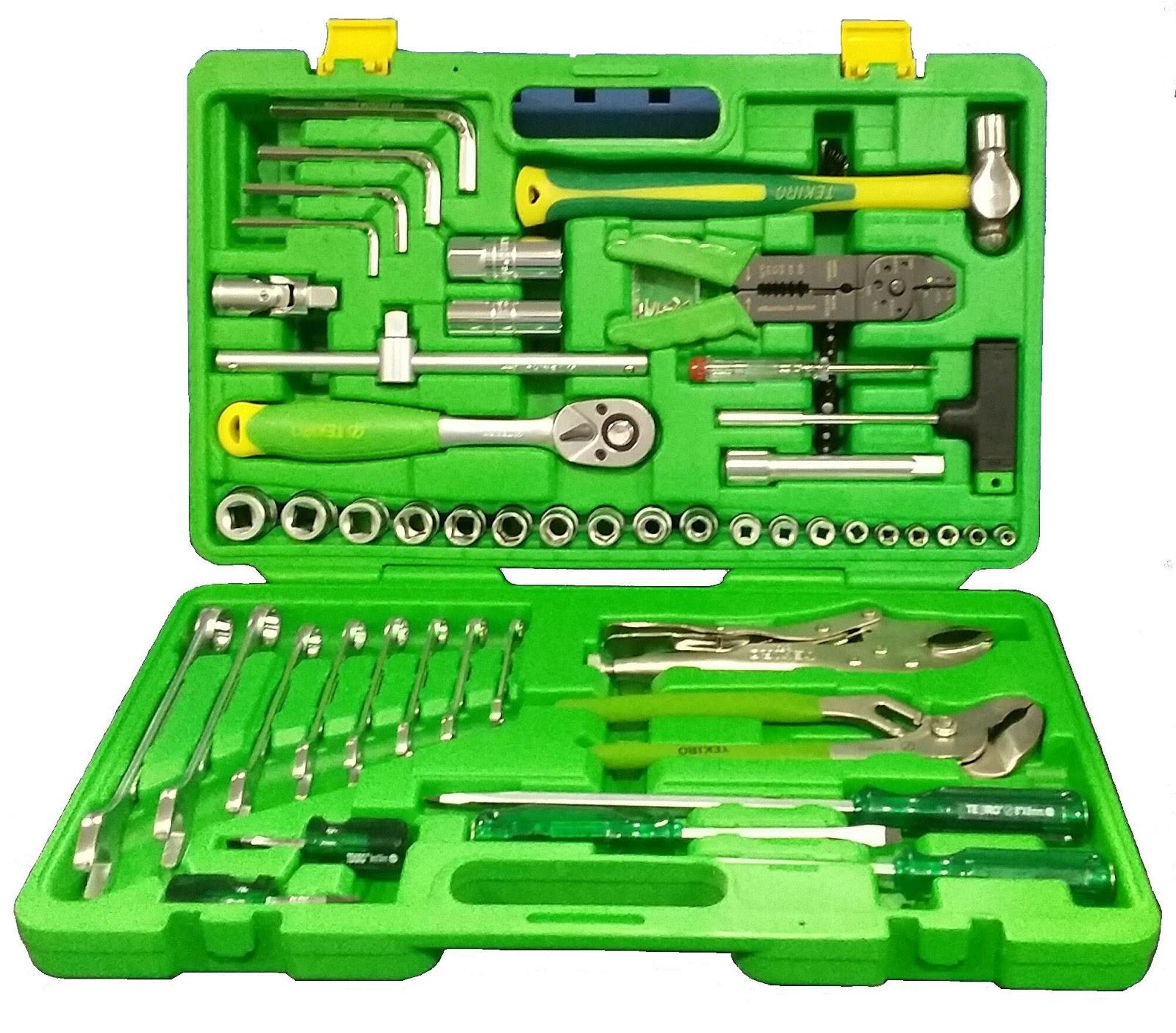 Jual Alat Teknik Mechanic Tools 100pcs