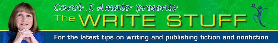 Carol J. Amato: The Write Stuff