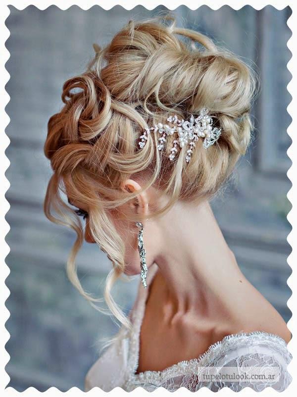 peinados 2015 para novias detalles