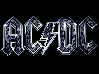 AC DC Band Logo HD Wallpaper