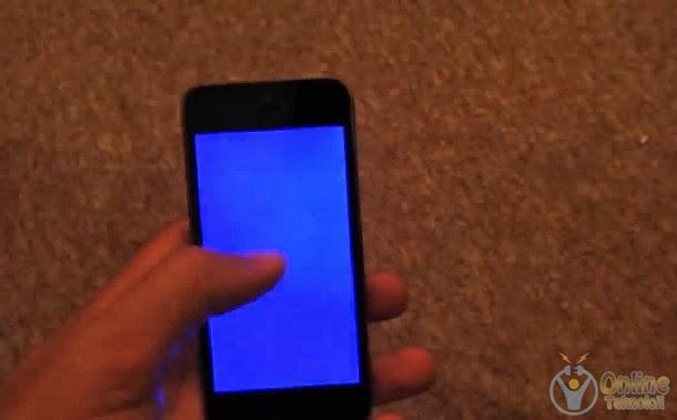 ios7 mavi ekran hatası