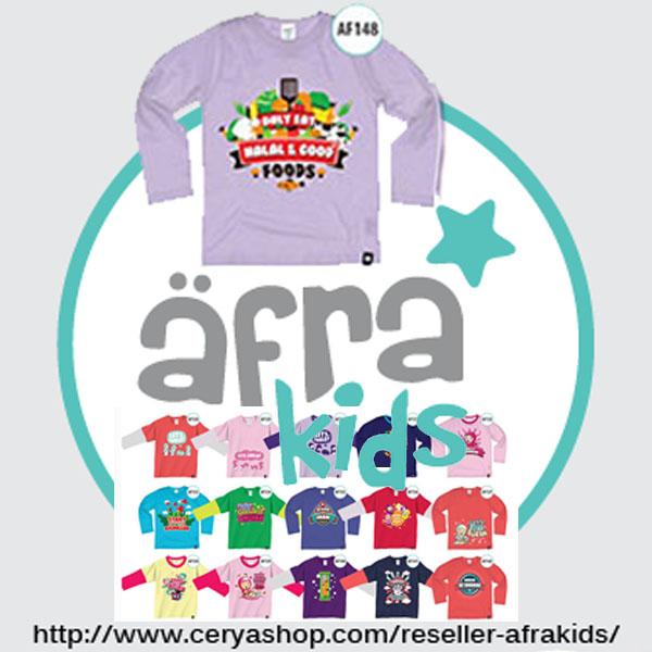 Reseller Kaos dan Baju anak Terbaru Afrakids