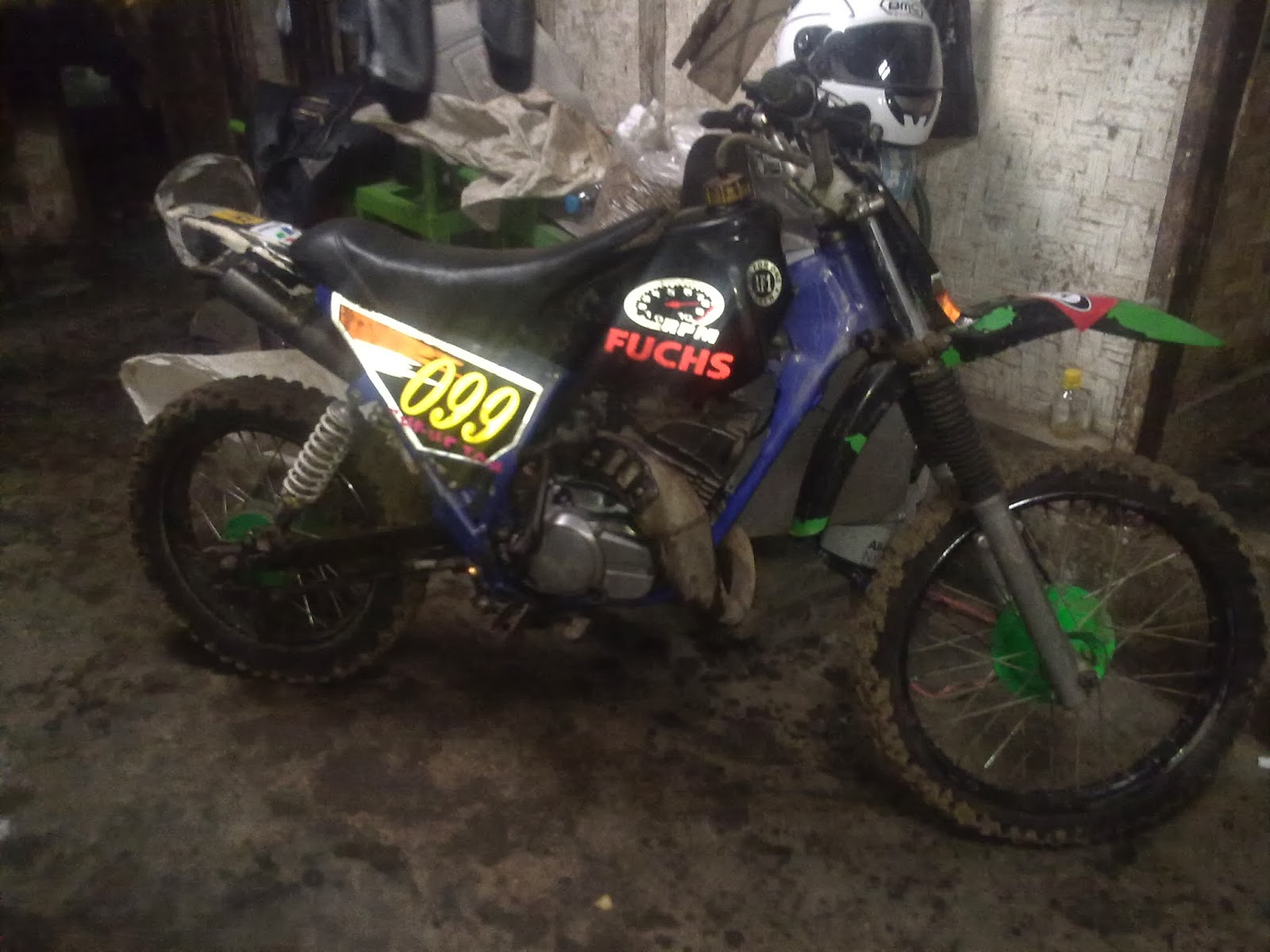 Jual Motor Trail Gestrek Yamaha Rxz