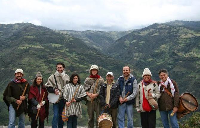 banda de flautas chicha y guarapo