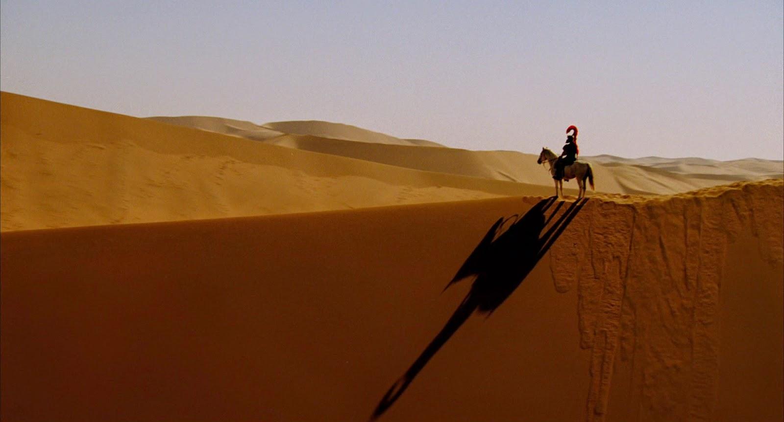 Alexander the Great desert scenes