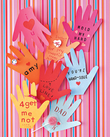 Craft Ideas August on And Footprint Arts   Crafts  Handprint   Thumbprint Valentines Ideas