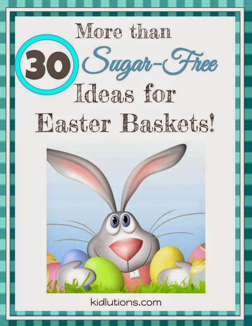 More than 30 sugar free easter basket ideas negle Choice Image