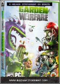Capa Plants vs. Zombies: Garden Warfare Torrent PC + Crack Baixaki Download