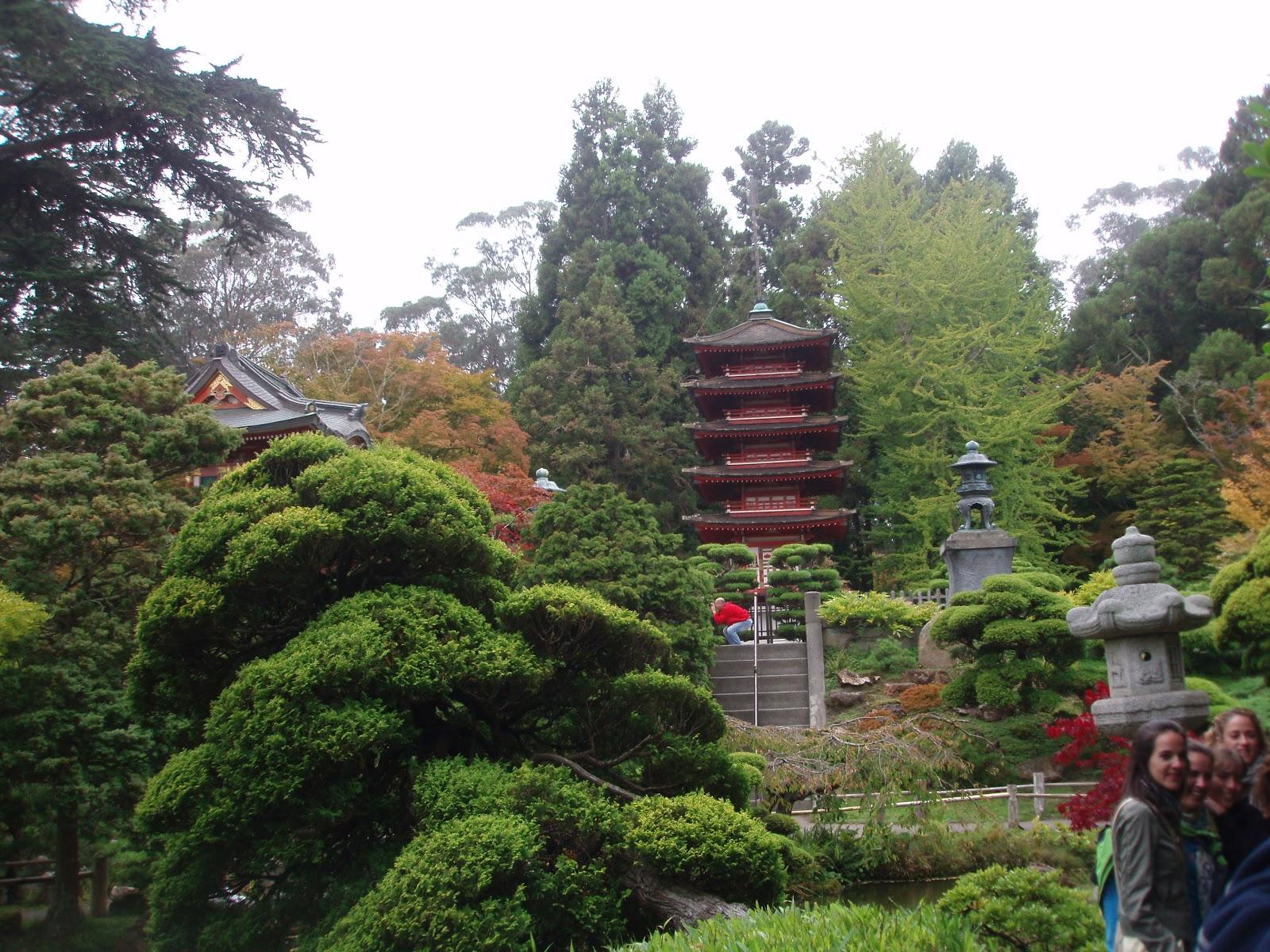 San francisco l a las vegas dia 3 jardin japones for Jardin estilo japones