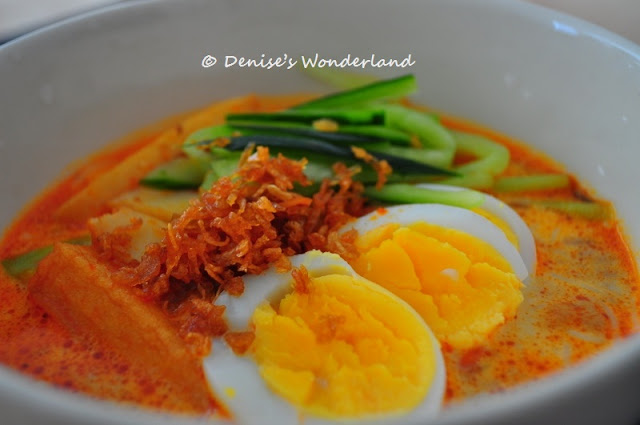 Tasty and yummy Laksa