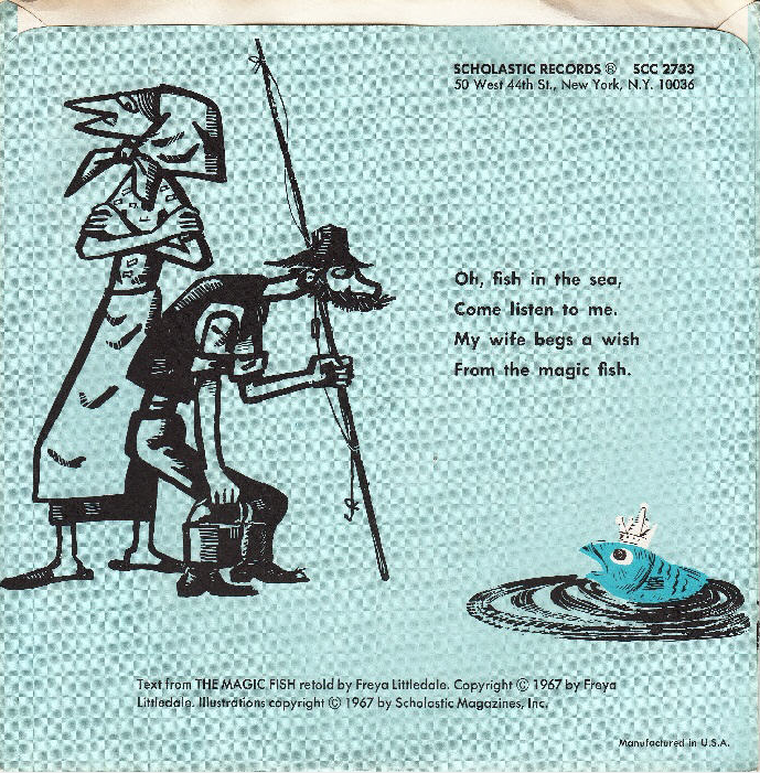 Attempted bloggery ed arno 39 s cover mock up for the magic fish for The magic fish