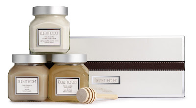 Laura Mercier, Laura Mercier French Vanilla Trio, Laura Mercier French Vanilla Souffle Body Creme, Laura Mercier French Vanilla Honey Bath, Laura Mercier French Vanilla Candle, holiday gifts, holiday gift guide