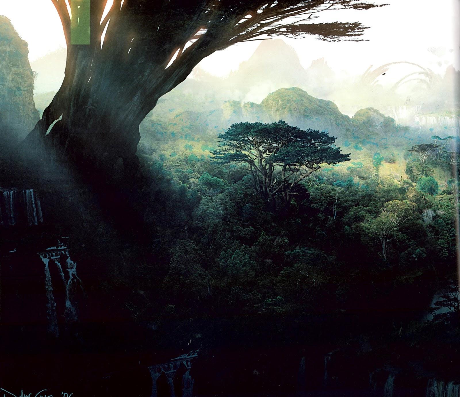 Avatar Pandora Landscape: Chris Mason: MA Design For Film, Television & Events: Film