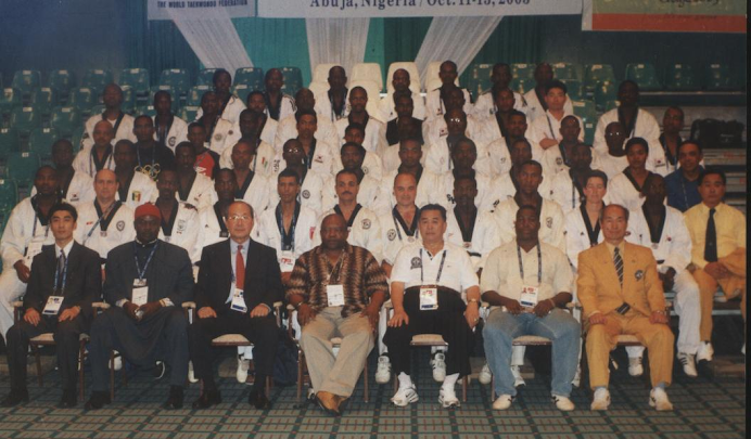 COJA 8TH ALL AFRICA GAMES ABUJA 2003 TECHNICAL OFFICIALS