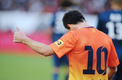 Messi salvó al Barcelona de su primera derrota