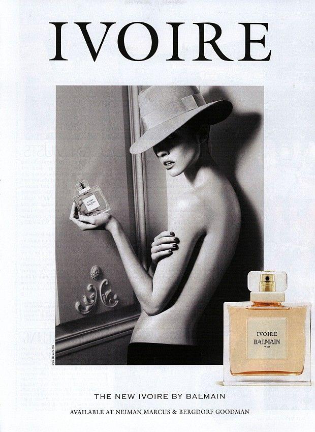 Reklama Balmain Ivoire