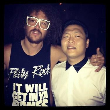 Psy & Redfoo LMFAO Di Vegas 03