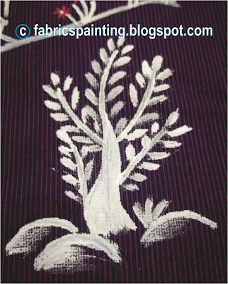 A tree in Warli Design