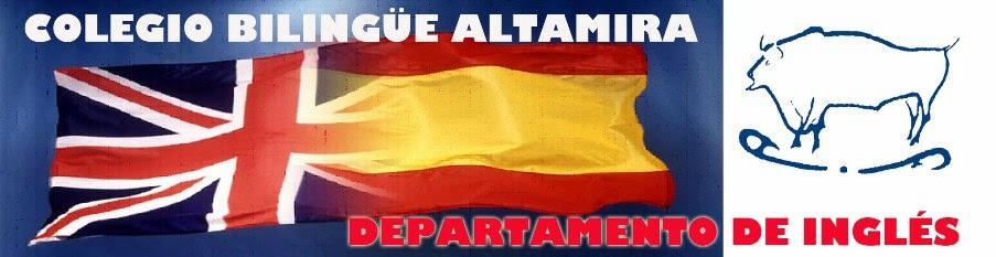 DEPARTAMENTO DE INGLÉS  COLEGIO ALTAMIRA