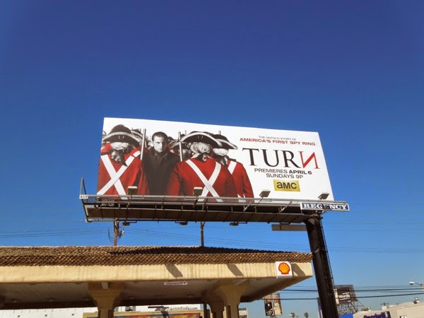 Turn series premiere billboard