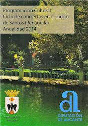 Programació cultural Jardí de Santos. Clica sobre la imatge per accedir a la programació