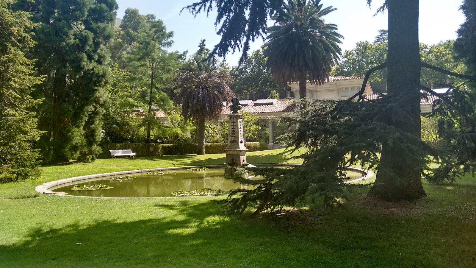 El jardin botanico madrid y sus cosas for El jardin botanico