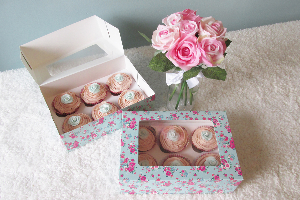 Mothers Day Cupcakes, Custom cupcakes, cupcake boxes,