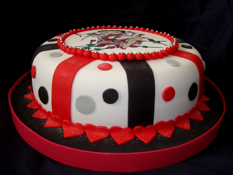 Tortas de betty Boop - Imagui