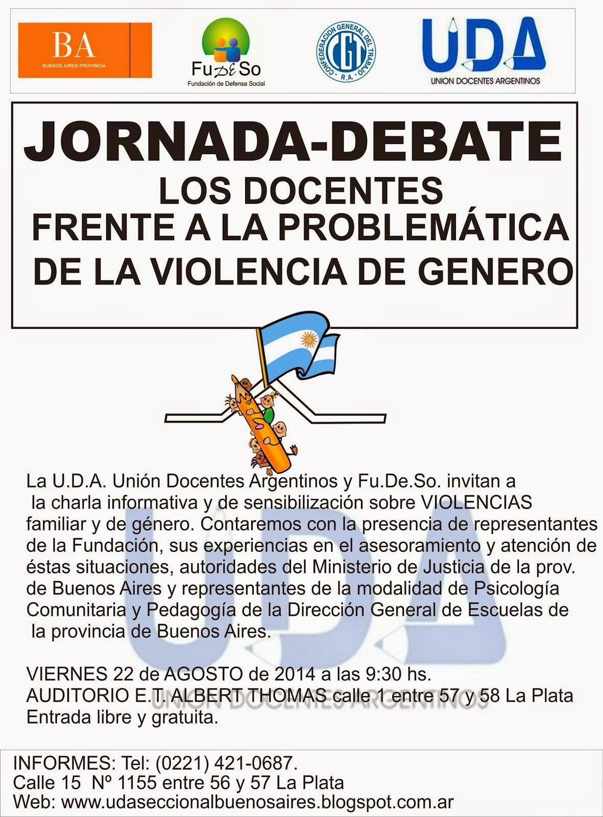 JORNADA SOBRE VIOLENCIA DE GENERO