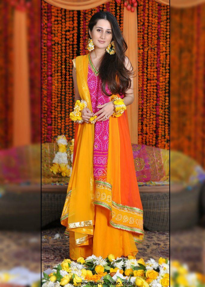 pakistani bridal mahndi dress 2013 pakistani bridal mahndi dress 2013 ...