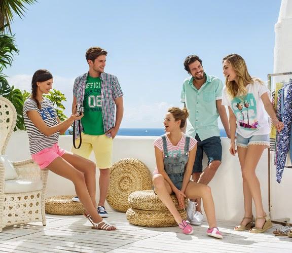 ropa mujer Carrefour Tex primavera verano 2015 camisetas shorts