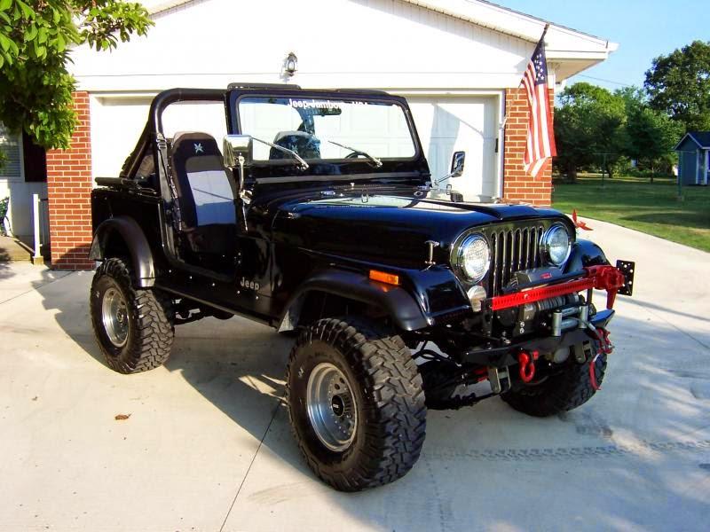 Modifikasi Jeep CJ-7