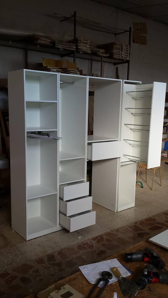 Madera y mueble mueble para lavadora secadora for Mueble lavadora secadora