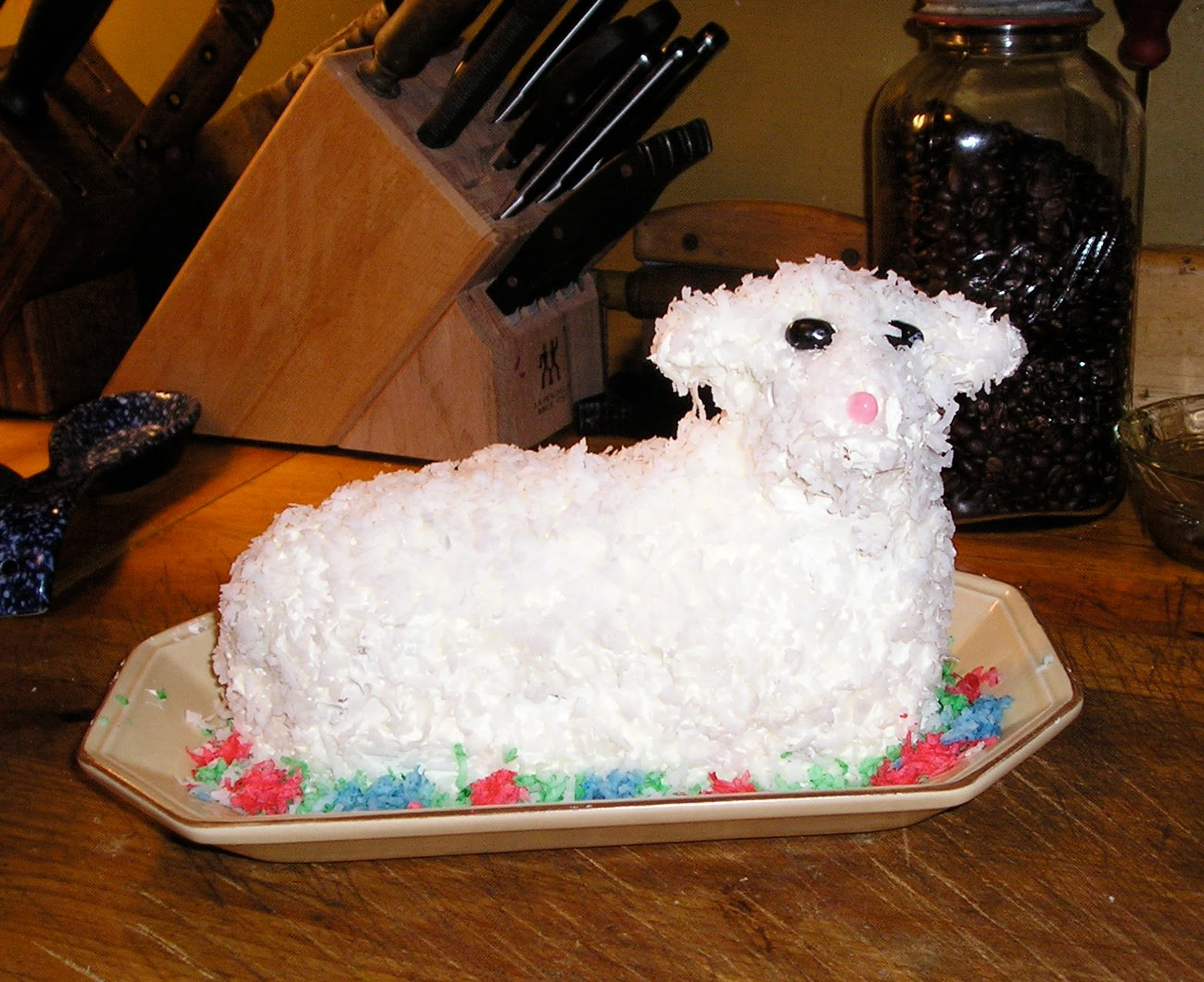 ... Mother's Meatloaf: Easter Coconut Lamb Cake - It's A Family Tradi...
