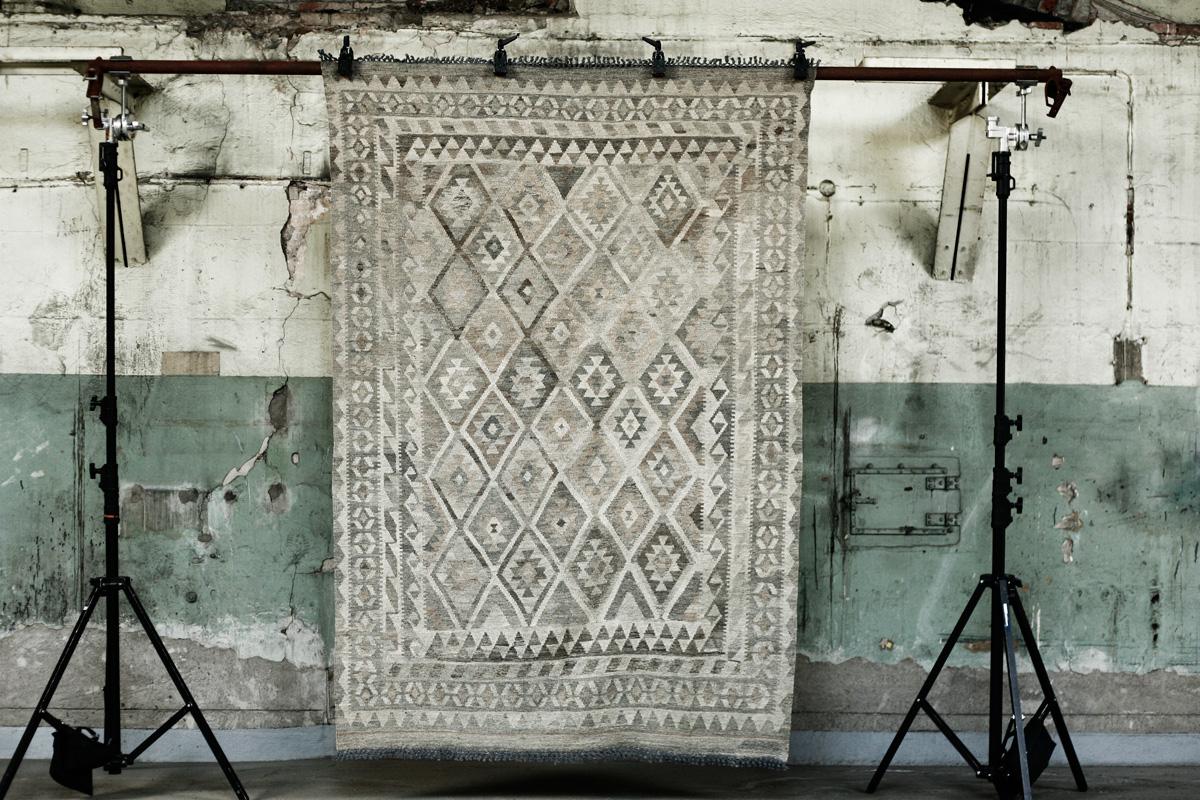Las maravillosas alfombras vintage de Artilleriet Etxekodeco