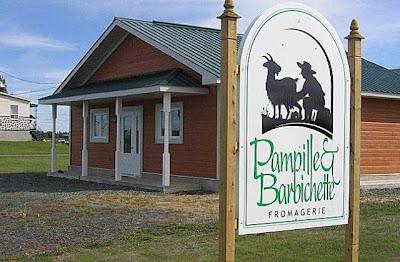 Fromagerie Pampille & Barbichette, Sainte-Perpétue, Quebec