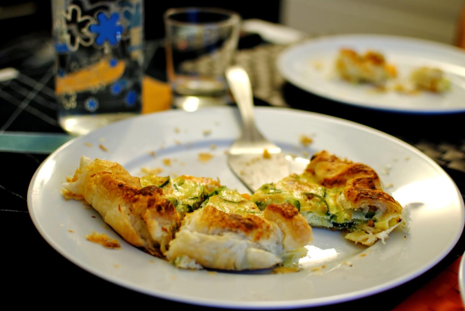 ricetta express: torta salata di zucchine e carote