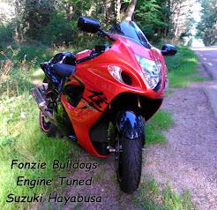 Fonzie Bulldogs Engine Tuned Suzuki Hayabusa 1340cc