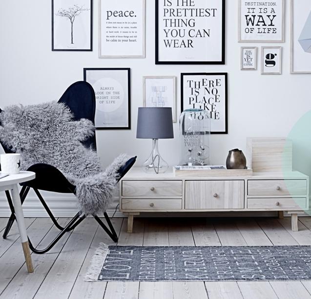 Un nouveau regard bloomingville la marque danoise qui for Objet deco style scandinave