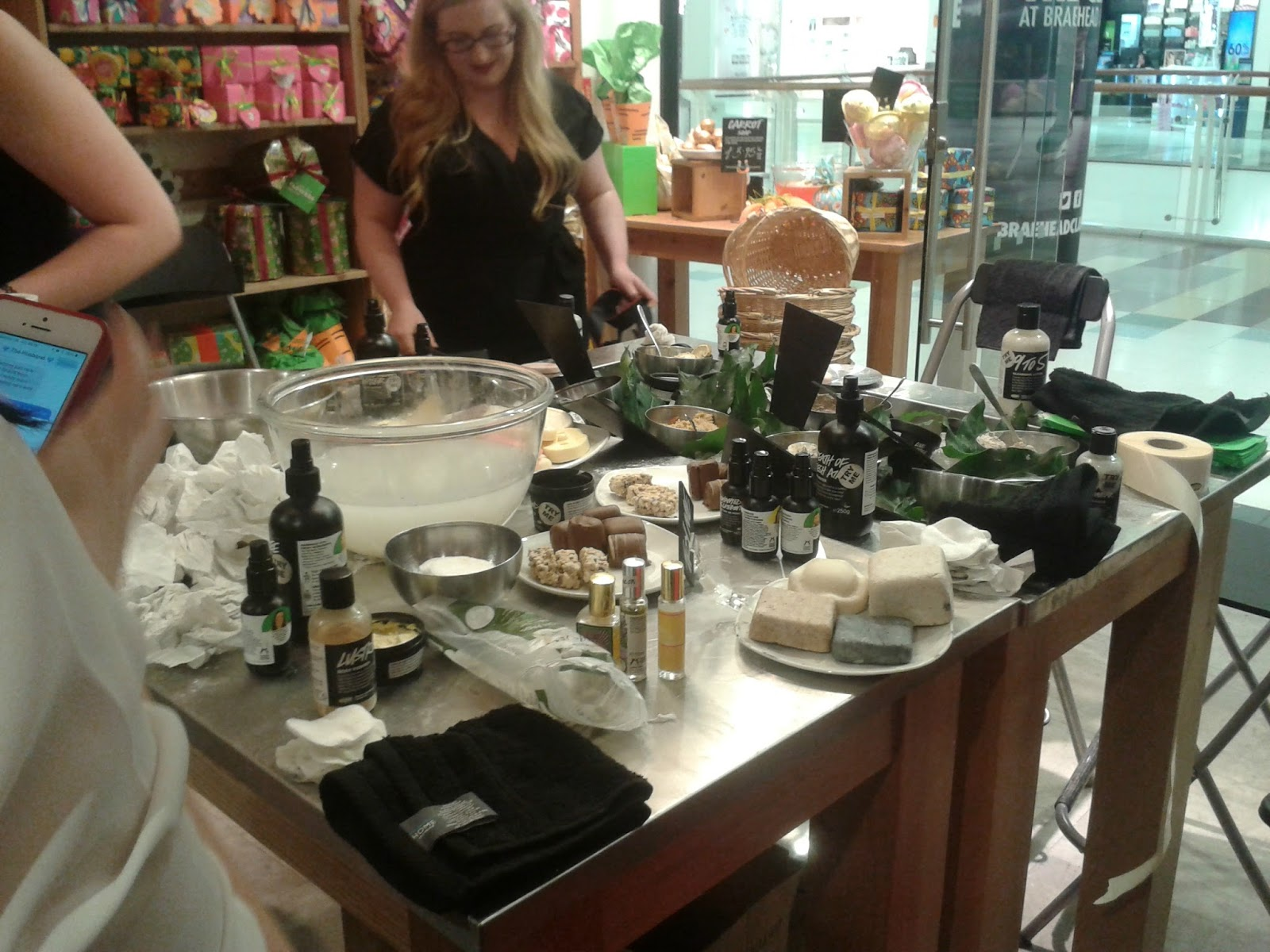 Lush Beauty School Event