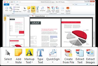 Nitro PDF Reader 2 - Intro