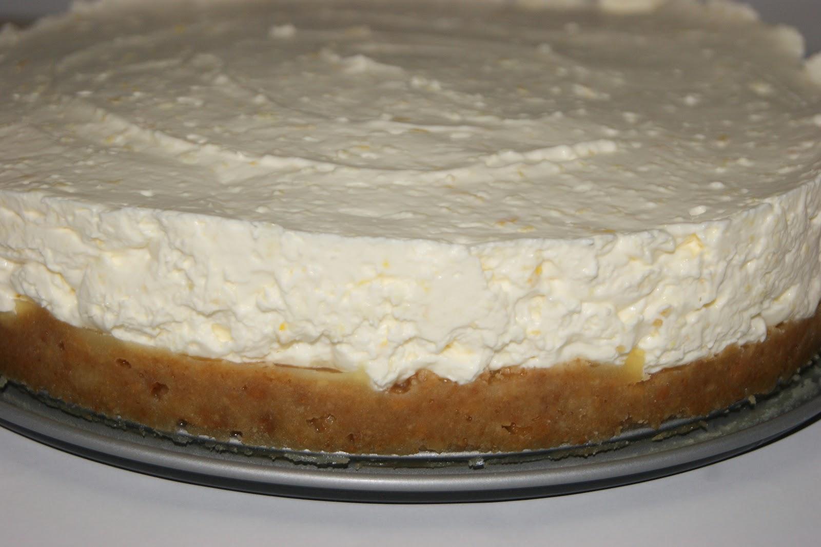 The Sunday Girl : Sunday Cooking with Sunday - Lemon Cheesecake