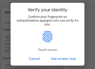 Google adds support for fingerprint sensors on Android phones and TouchID on Macs to Chrome 70 beta, allowing developers to use biometrics for authentication (Chromium Blog)
