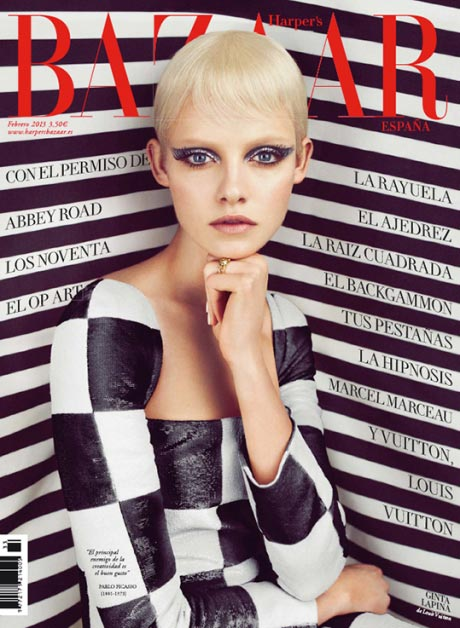 harper's bazaar spain february 2013 cover