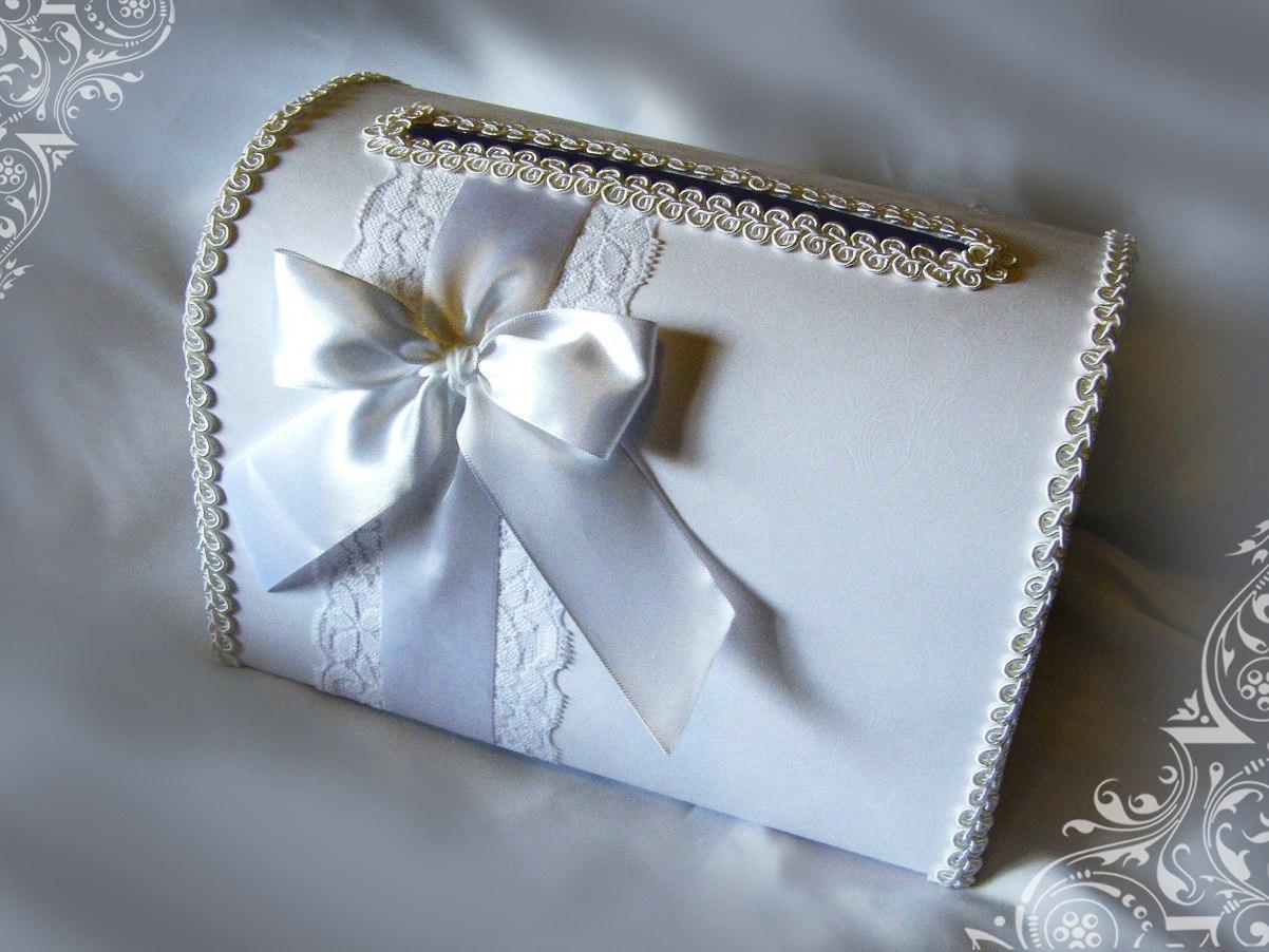 Украшение свадебных сундучков своими руками фото